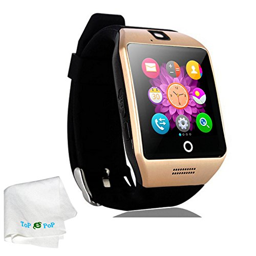 Touch Screen Smart Watch Bluetooth Wristband Pedometer Fi...