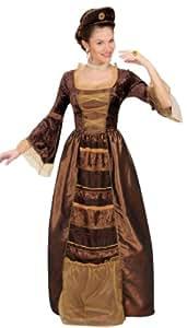 Disfraz de baronesa medieval para mujer
