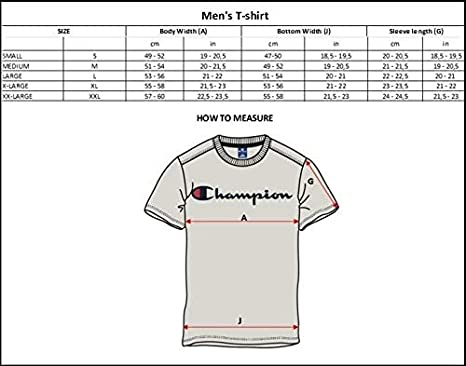 Champion Classic Small Logo para Hombre Camiseta