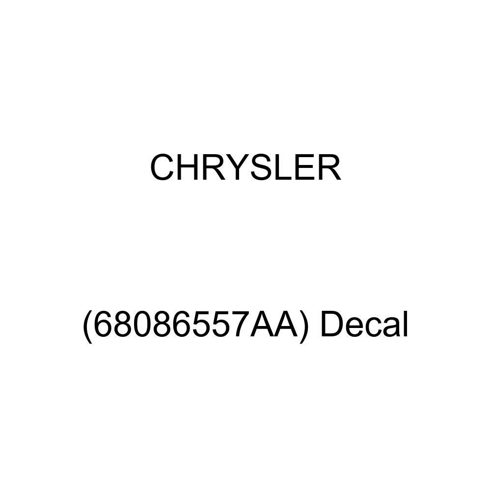 68086557AA Chrysler Genuine Decal