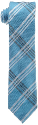 Calvin Klein Men's Frosted Plaid Pack Necktie