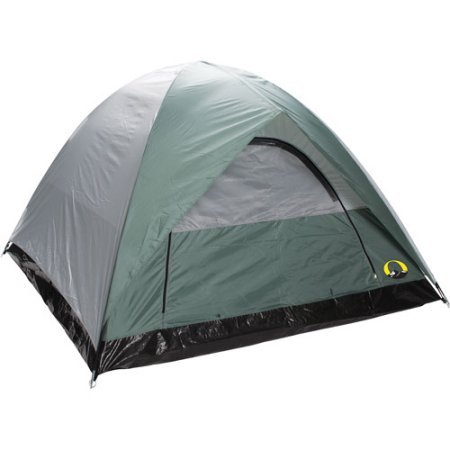 Stansport Ranier 2 Pole Dome 4-Person Tent, 9'X7'' by Stansport