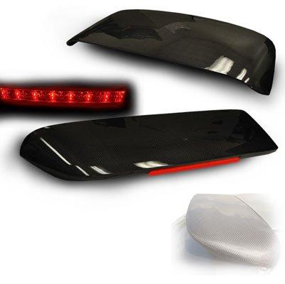 Remix Custom For 1996-2000 Honda Civic Hatchback EK Carbon Fiber LED Spoiler