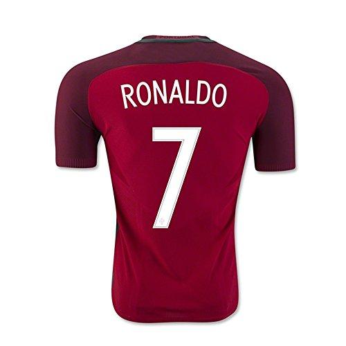 136e0a356 ... new zealand 2016 2017 kid portugal green soccer jerseys uniform ronaldo  7 portugal home soccer jersey