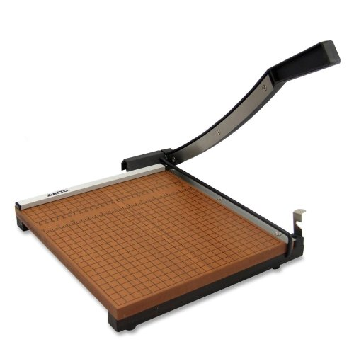 Wholesale CASE of 3 - Elmer's X-ACTO Square Heavy-duty 12''X12'' Trimmer-Paper Trimmer,12 Sh Cap.,3/4'' Thick Base,12''x12'',Brown/Black