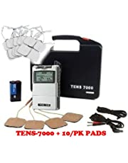 "TENS MACHINE TENS 7000 Muscle Stimulation / 20 pads 2""x2""Electrodes Included"