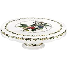 Portmeirion Holly and Ivy Footed Cake Stand