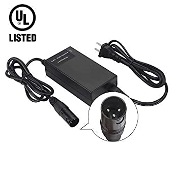24 Volt 2A 56W XLR Mobility Battery Charger For Scooter Jazzy Power Chair 28V