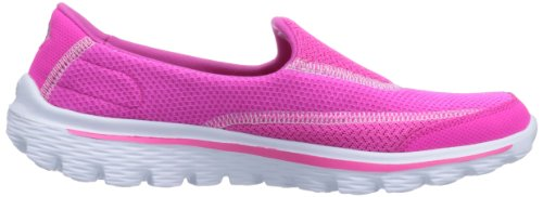 2 de Go Skechers Hpk Mujer Walk Zapatillas para Deporte Rosa qwRHOa