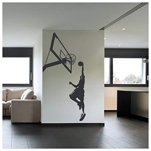 Azutura Basketball Slam Dunk Wandtattoo Sport Spiele Wand Sticker