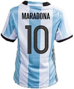 FM Diego Maradona Argentina Home Retro Soccer Jersey 1994