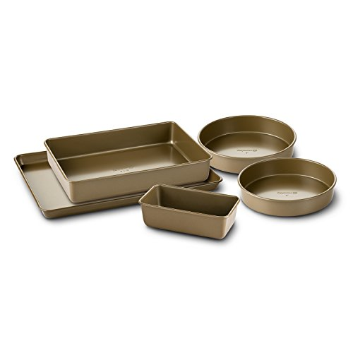 Simply Calphalon Nonstick Bakeware, Set, 5-Piece