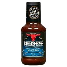 BULL'S-EYE Steakhouse BBQ Sauce, 10 Count, 425ML Each