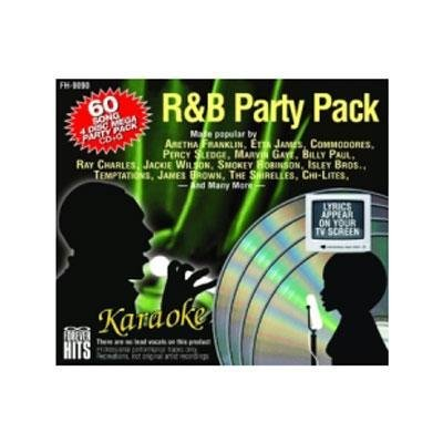 Hits Forever Karaoke - Forever Hits 9090 R&B Party Pack (4 Discs 60 Songs)