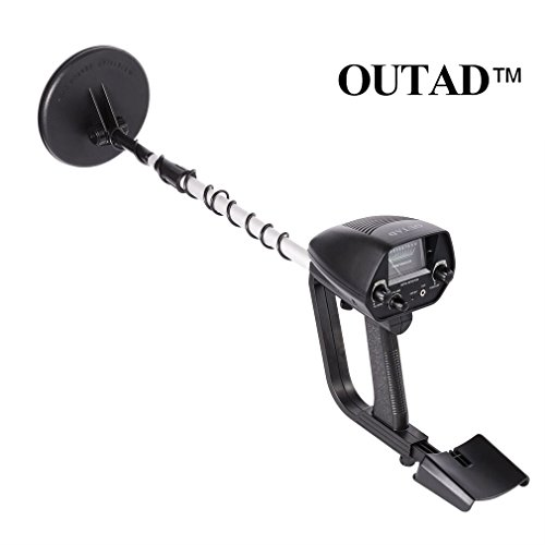 Metal Detector, OUTAD Gold Digger with Waterproof Search Coil, Volume Adjustment, Automatic Sensitive, LCD Display Metal Detector Pinpointer