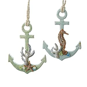 41pMgLcu8FL._SS300_ 75+ Anchor Christmas Ornaments
