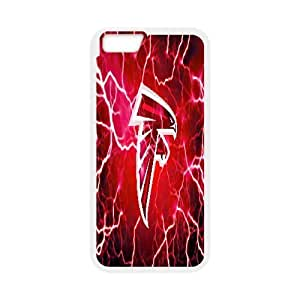 [Atlanta Falcons] Atlanta Falcons Lightning Cases for IPhone 6, IPhone 6 Case {White} WANGJING JINDA