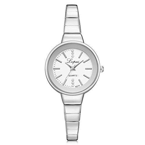 BEUU2018 Women's Quartz Watch New Promotional Price Crystal Diamond Bracelet Wrist Wholesale Price Wristwatch Fashion Watches Quartz Men Women (C)