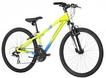 Monty KY8 - Bicicleta de montaña para niño, Color Amarillo/Azul, 13