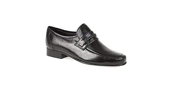 Pierre Cardin Mocasines de Piel para hombre Negro negro: Amazon.es: Zapatos y complementos