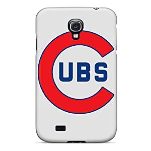Hard Plastic Galaxy S4 Case Back Cover,hot Chicago Cubs Case At Perfect Diy