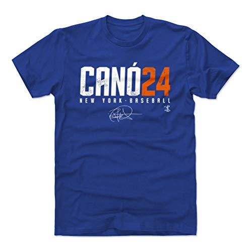 500 LEVEL Robinson Cano Cotton Shirt (X-Large, Royal Blue) - New York Baseball Men's Apparel - Robinson Cano Elite O O WHT