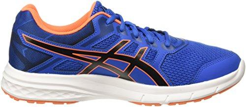 Excite Scarpe 5 bleu Uomo Asics Running noir orange da Gel 41wggCq5