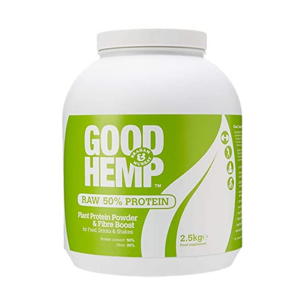 Braham And Murray  Good Hemp Raw Protein Powder
