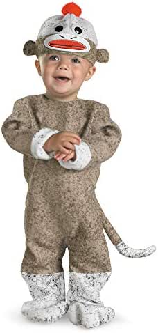Disguise Inc All NEW Sock Monkey Baby Costume