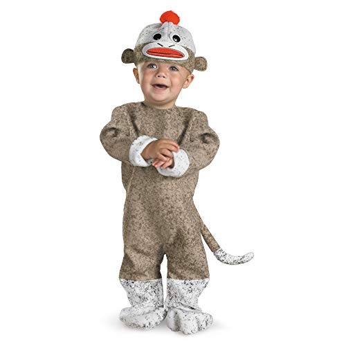 Cheap Halloween Costumes For 12-18 Months (Sock Monkey costume, 12-18)