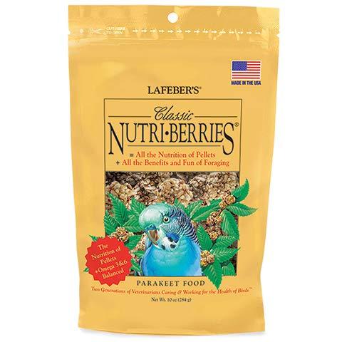 Lafeber's Classic Nutri-Berries for Parakeets 10 oz