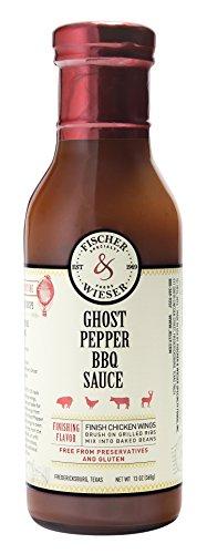 Fischer & Wieser Ghost Pepper BBQ Sauce, 13 Ounce (Pack of - Ratings Sauce Bbq