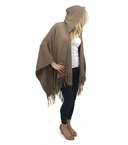 jessica-mcclintock-solid-knit-hooded-caped-ruana-wrap-shawl-poncho-with-fringe-khaki