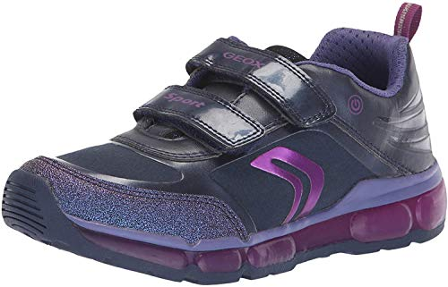 Geox Kids' Android Girl 19 Light-up Sneaker