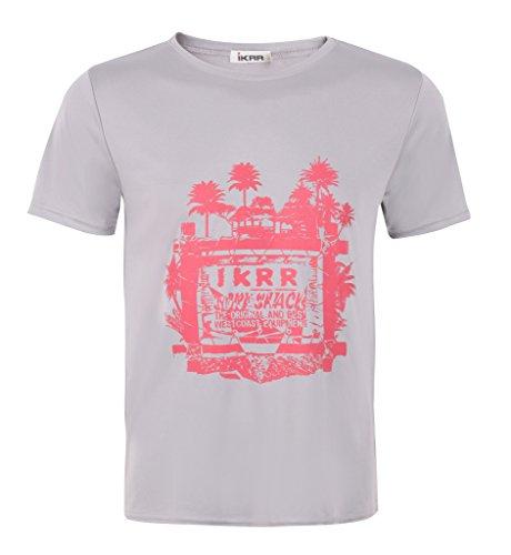 IKRR Men's T-shirt (XL, Gray)