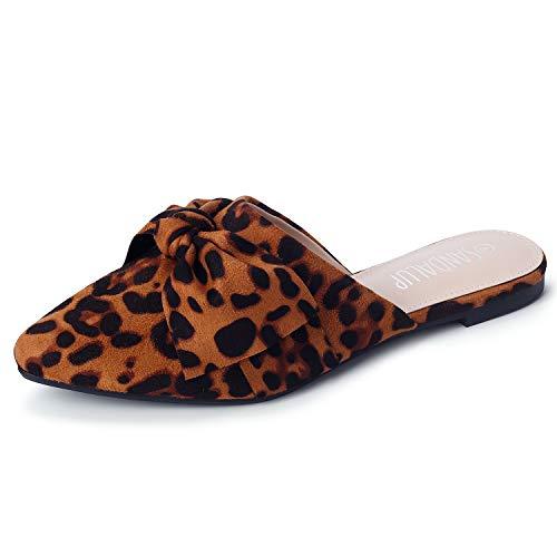 SANDALUP Muller Shoes for Women Leopard 09 ()