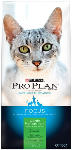 Cat Supplies Pro Plan Cat Weight Management