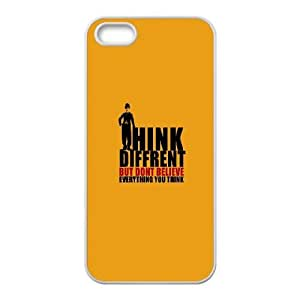 iPhone 4 4s Cell Phone Case White Positive Thoughts 2 Lyyfz