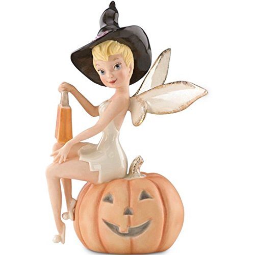 Lenox Disney Tink's Halloween Treats Figurine Tinkerbell Pixie Witch Pumpkin (Pumpkin Lenox)