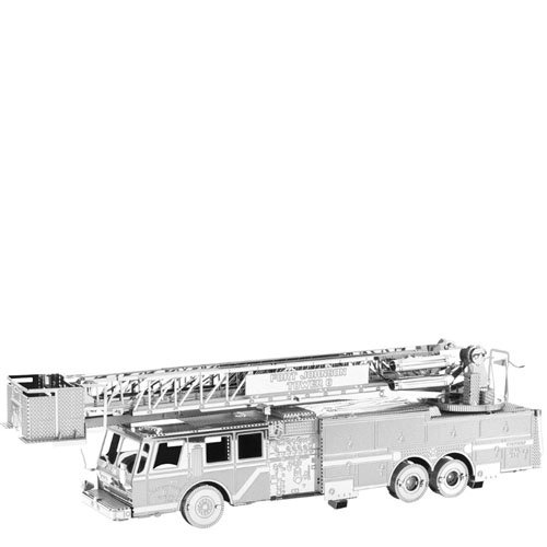 (Metal Earth MMS115502607FIRE Truck Construction Toy)