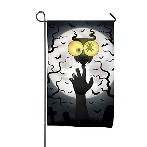 FunnyLife Season House Garden Flags Halloween Holiday Crazy