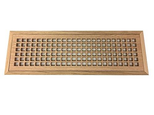 wood air return grille - 9