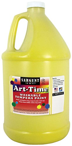 sargent-art-17-3602-128-oz-yellow-art-time-washable-tempera-paint1-gallon