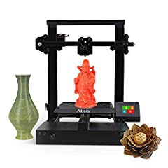 Features: Printer profile is made of high-quality metal with classic black color, which makes it delicate and elegant. The motherboard, adopting the master core of STM32 chip, offers high printing speed. Full color touch screen display, 2.4 i...