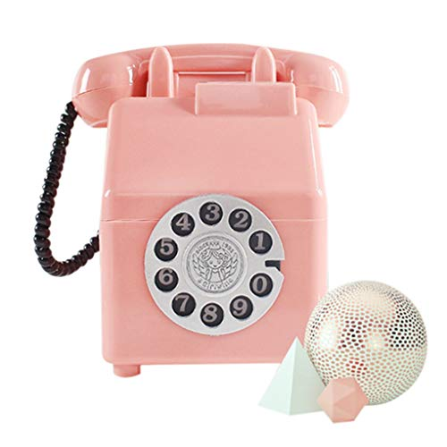 AYUNYUN Retro Telephone Children Money Box Creative Piggy Bank Coin Saving Home Decor ()