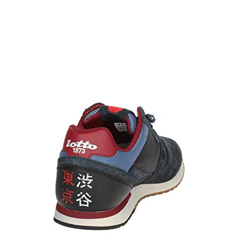 Blu Uomo Tokyo Lotto Suede Mesh Sneakers Shibuya EU Leggenda 42 0BqB5xSF