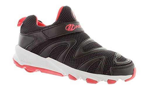 Heelys Rapido Sneaker, BLACK/RED, 13 M US Big Kid