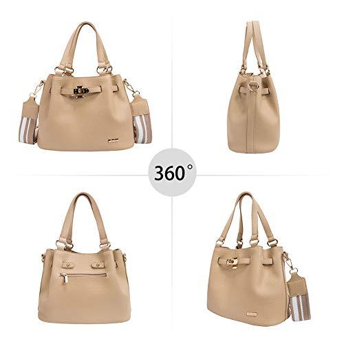 RenDian Women Casual Top Handle Satchel Shoulder Bag Tote Purse Handbags for Travel/Leisure/Dating by RenDian (Image #2)