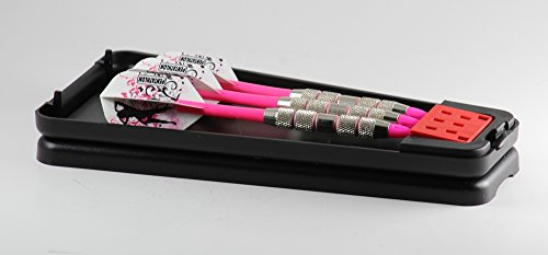 Convertible Puurfect Pink Soft Tip Darts for the Ladies - 16 Grams - Extra Tips, Flights, Shafts (Soft Tip Darts Pink Flights)