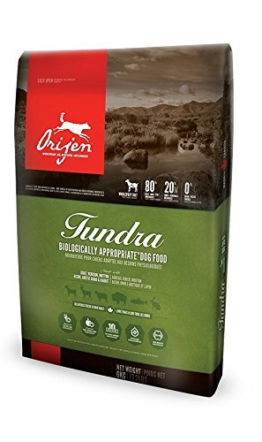 Orijen Tundra Wholeprey Grain Free Dry Dog Food